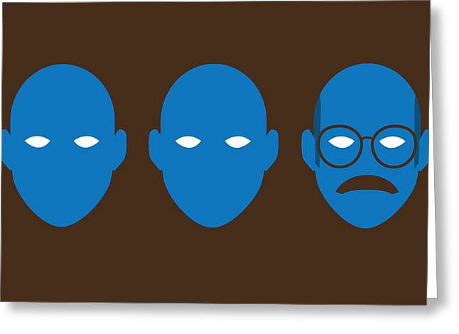 Arrest Greeting Cards - Bluth Man Group Greeting Card by Michael Myers