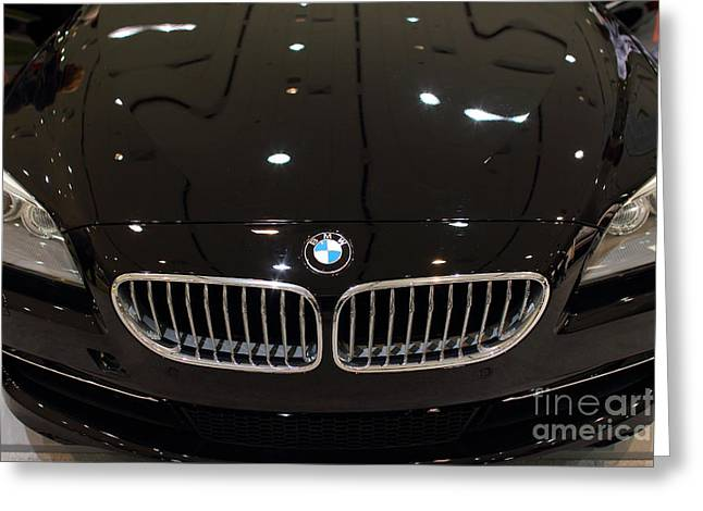 BMW . 7D9566 Greeting Card by Wingsdomain Art and Photography
