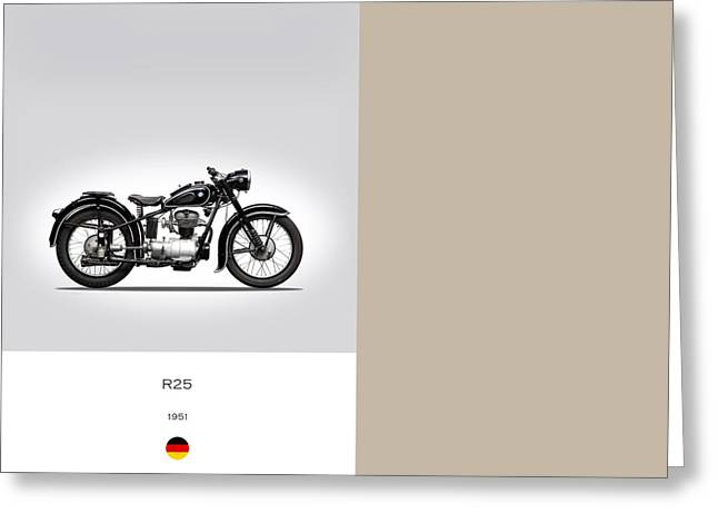 Motorcycles Greeting Cards - Bmw R25 Greeting Card by Mark Rogan