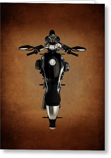 Motorcycle Poster Greeting Cards - BMW The Art of the Motorcycle Greeting Card by Mark Rogan