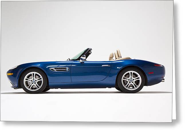 Bmw Z8 Greeting Card by Dean Farrell