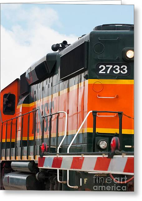 Bnsf 2733 Greeting Card by Noel Zia Lee