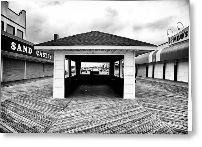 Seaside Heights Greeting Cards - Boardwalk Dimensions Greeting Card by John Rizzuto
