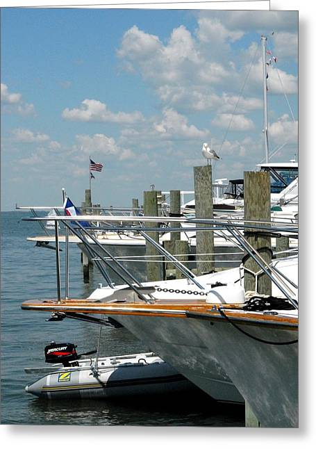 Sailboat Art Greeting Cards - Boat 16 Greeting Card by Joyce StJames
