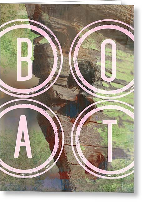 Boat Greeting Card by Brandi Fitzgerald