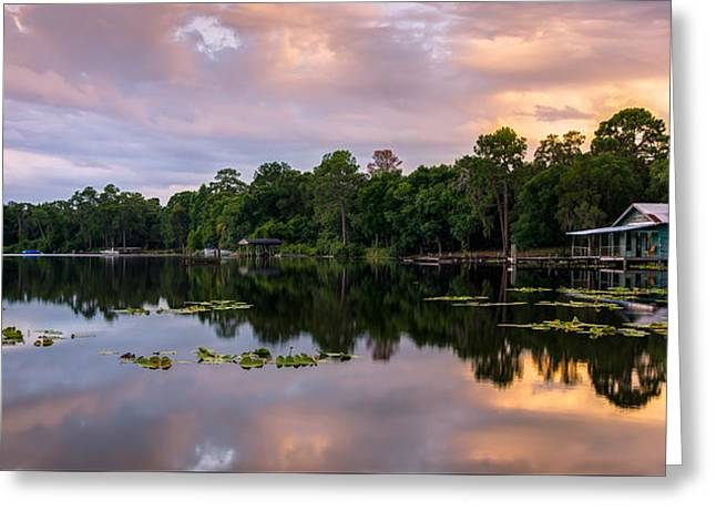 Old House Photographs Digital Greeting Cards - Boat House Greeting Card by Clay Townsend