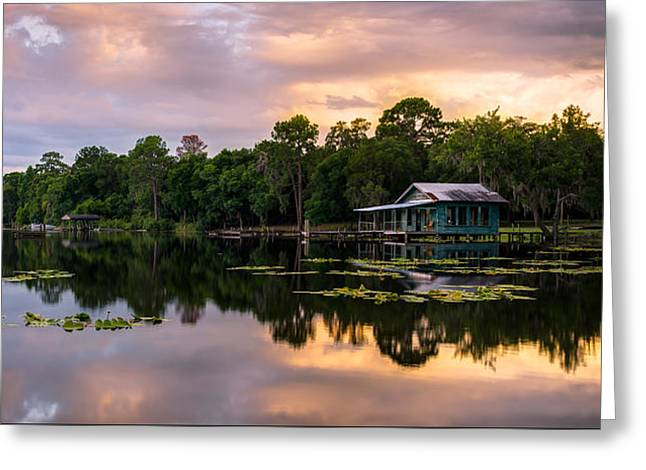 Old House Photographs Greeting Cards - Boat House Greeting Card by Clay Townsend