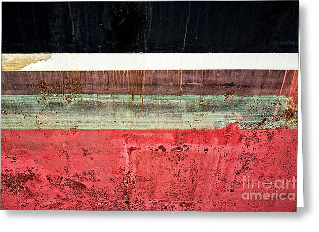 Technical Greeting Cards - Boat Hull Greeting Card by Delphimages Photo Creations