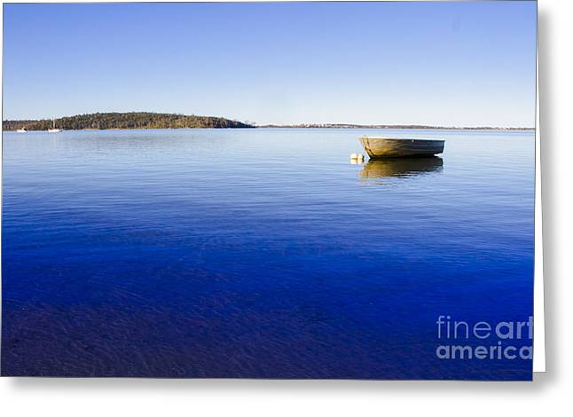 Boating Backgrounds Greeting Card by Jorgo Photography - Wall Art Gallery
