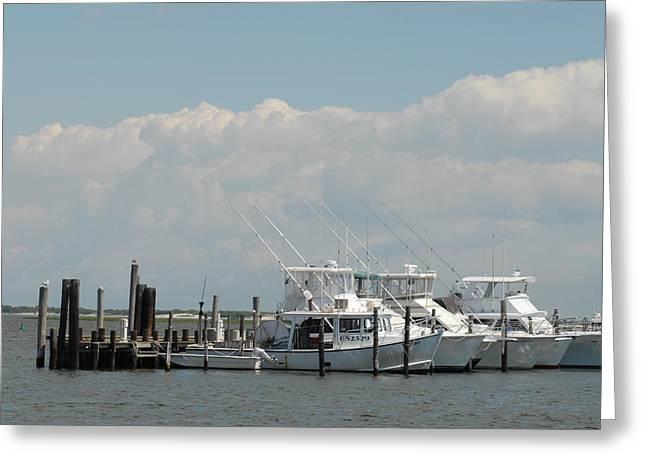 Ocean Art Photos Greeting Cards - Boats 51 Greeting Card by Joyce StJames
