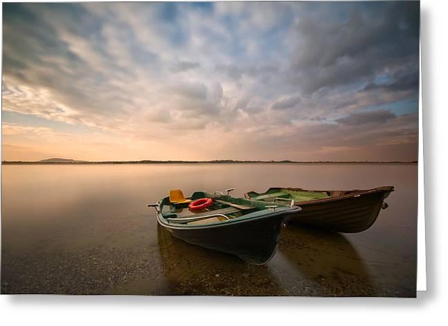 Poland Greeting Cards - Boats Greeting Card by Piotr Krol (bax)