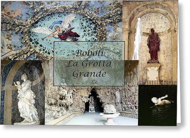 Valuable Greeting Cards - Boboli La Grotta Grande 2 Greeting Card by Ellen Henneke