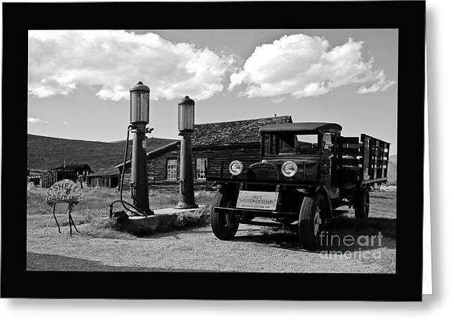 Mining Photos Greeting Cards - Bodie California  Greeting Card by Nick  Boren