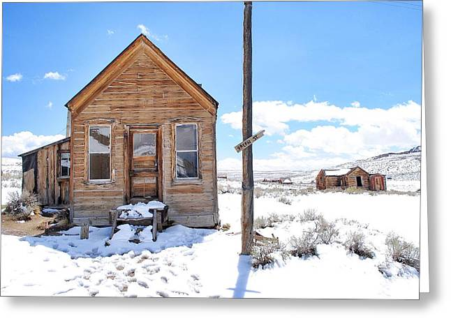 Owner Greeting Cards - Bodie Ghost Town Greeting Card by Maria Jansson