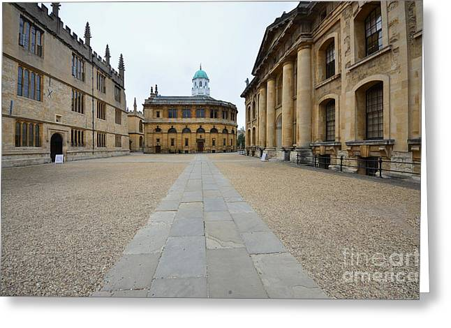 Bodleian Library Greeting Card by Stephen Smith
