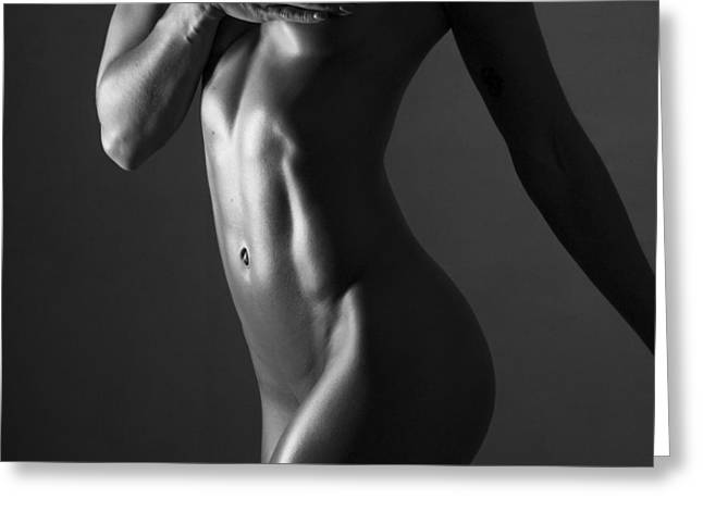 Tasteful Photographs Greeting Cards - Body of Art 11 Greeting Card by Blue Muse Fine Art