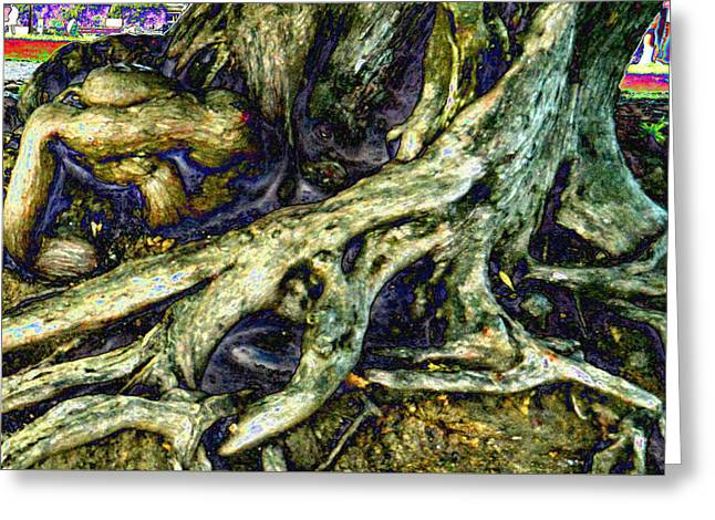 Tree Roots Greeting Cards - Body parts Greeting Card by Tom Kelly