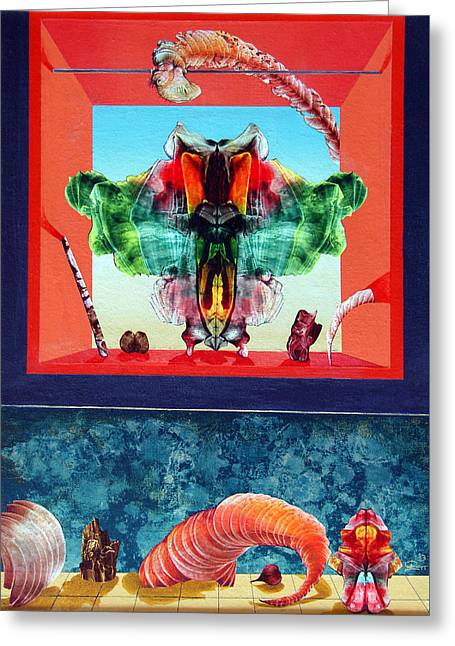 Bogomils Ceremonial Stage Greeting Card by Otto Rapp