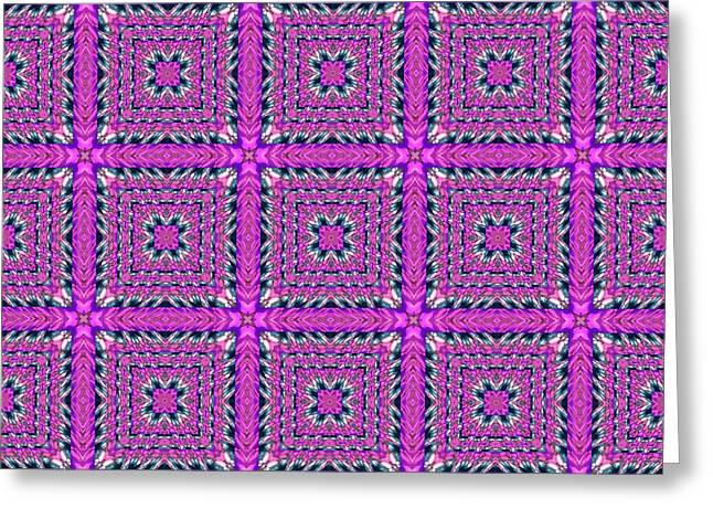 Geometric Digital Art Greeting Cards - Bok02_0013 Greeting Card by RiaL Treasures