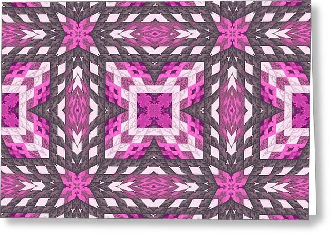 Geometrical Art Greeting Cards - Bok02_0091 Greeting Card by RiaL Treasures