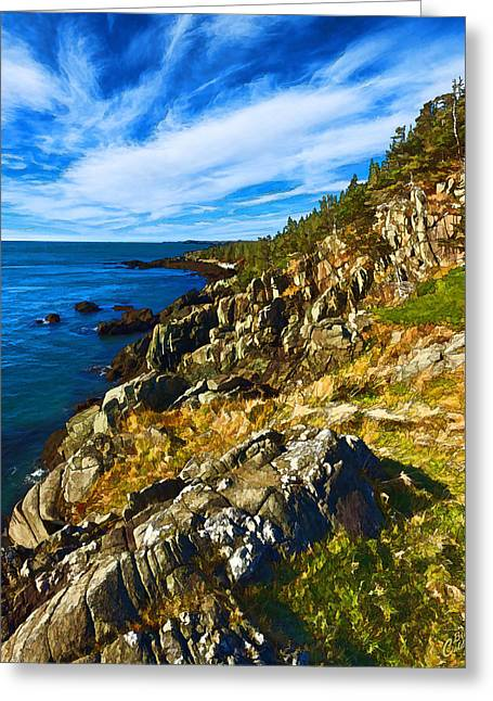 Bold Coast 3 Greeting Card by Bill Caldwell -        ABeautifulSky Photography