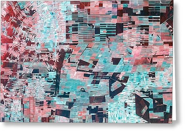 Bolivian Deforestation Greeting Card by Elaine Plesser