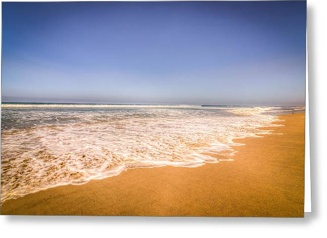 California Beaches Greeting Cards - Bolsa Chica Beach Greeting Card by Spencer McDonald