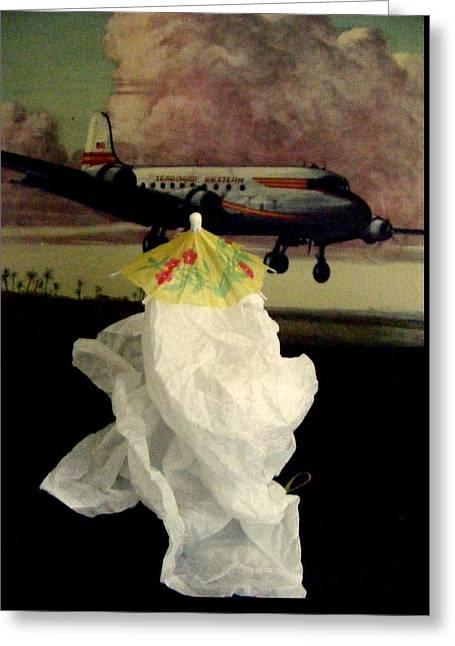 Bon Voyage Mon Ami Greeting Card by Nancy Kane Chapman