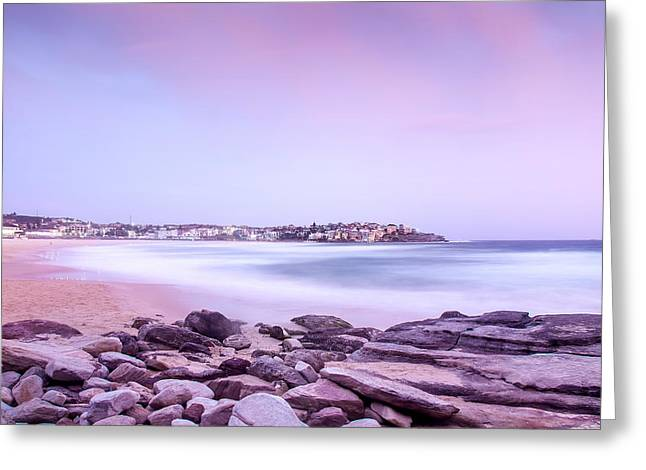 Bondi Basin Greeting Card by Az Jackson