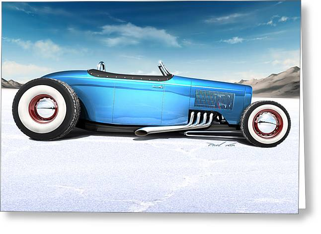 Paul Kim Greeting Cards - Bonneville Stretch Greeting Card by Paul Kim