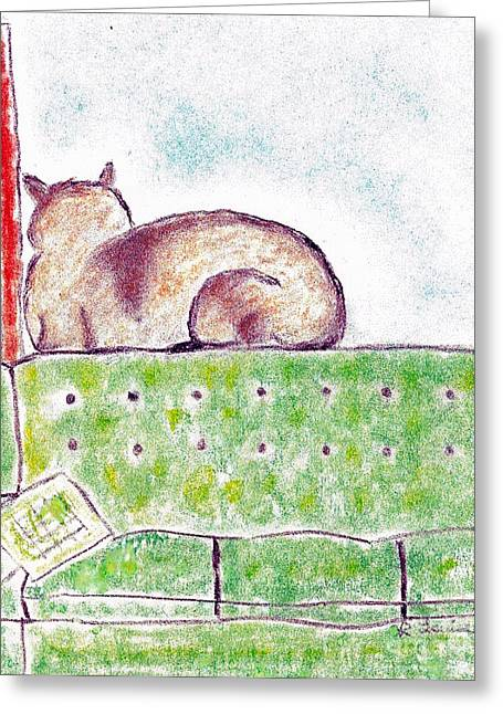 Facing Pastels Greeting Cards - Boo Bears Solitude Greeting Card by Robyn Louisell