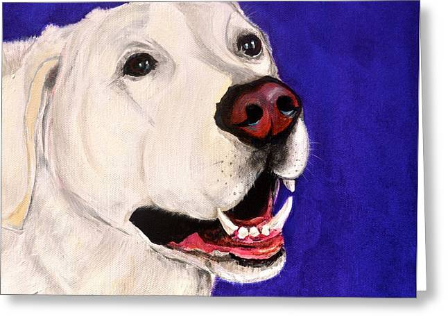 Boo Greeting Cards - Boo Greeting Card by Debi Starr