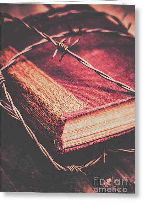 Book Of Secrets, High Security Greeting Card by Jorgo Photography - Wall Art Gallery