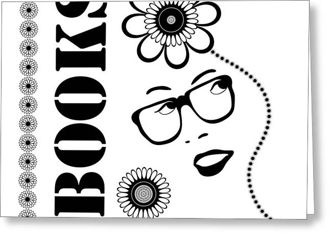 Book Art Greeting Cards - Books Are Good For You Greeting Card by Frank Tschakert