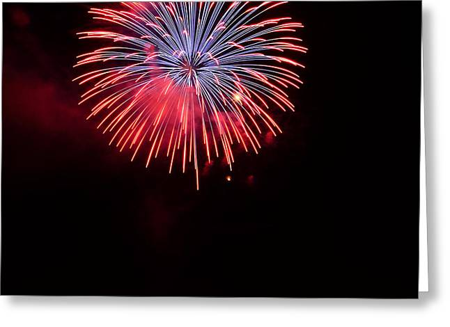 Pyrotechnics Greeting Cards - Boom Greeting Card by Jesse Grabowski