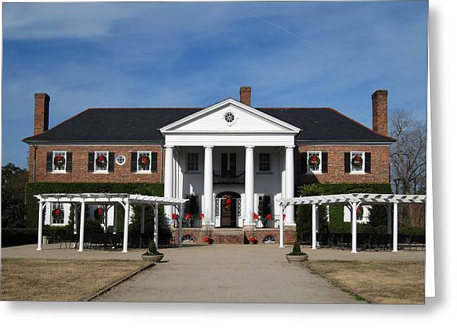 Boone Hall Plantation Charleston Sc Greeting Card by Susanne Van Hulst