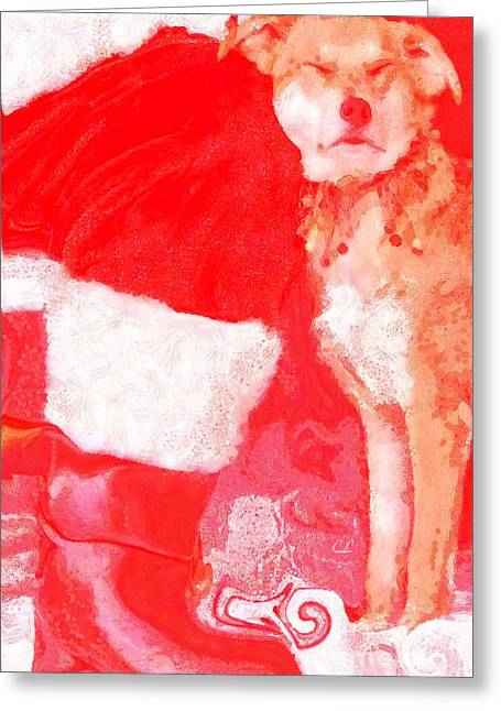 Boots Greeting Card by Catherine Lott