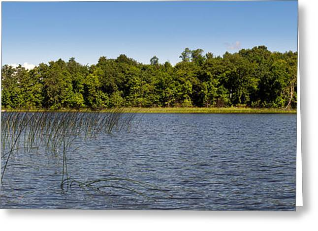 Camelot Greeting Cards - Borden Lake Minnesota Greeting Card by Gary Eason