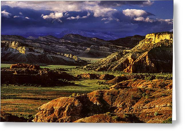Southern Utah Greeting Cards - Borderland Greeting Card by Grant Sorenson