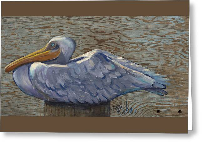 Born To Rest Greeting Card by Billie Colson