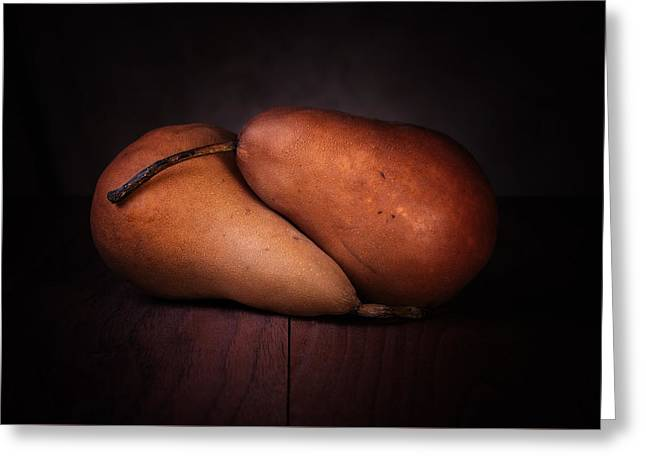 Bosc Pears Greeting Card by Tom Mc Nemar