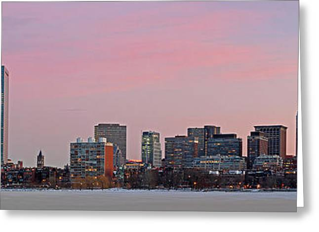 Charles River Greeting Cards - Boston Dawn Greeting Card by Juergen Roth