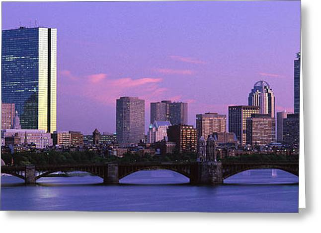 Boston Ma Greeting Cards - Boston Ma Greeting Card by Panoramic Images