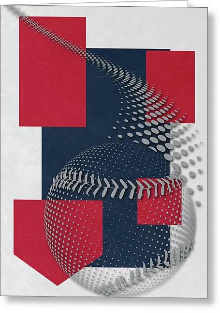 Boston Red Sox Art Greeting Card by Joe Hamilton
