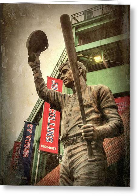 Boston Red Sox - Carl Yastrzemski Greeting Card by Joann Vitali