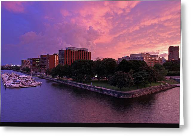 Royal Art Greeting Cards - Boston Royal Sonesta Greeting Card by Juergen Roth