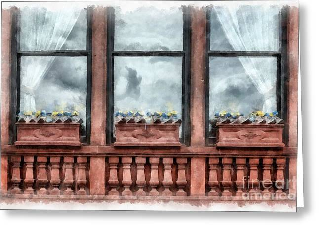 Boston Strong Memorial Back Bay Greeting Card by Edward Fielding
