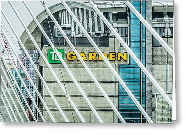 Boston Ma Greeting Cards - Boston TD Garden Greeting Card by Black Brook Photography