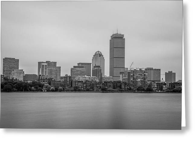 Boston Red Sox Greeting Cards - Bostons Back Bay Greeting Card by Ryan McKee