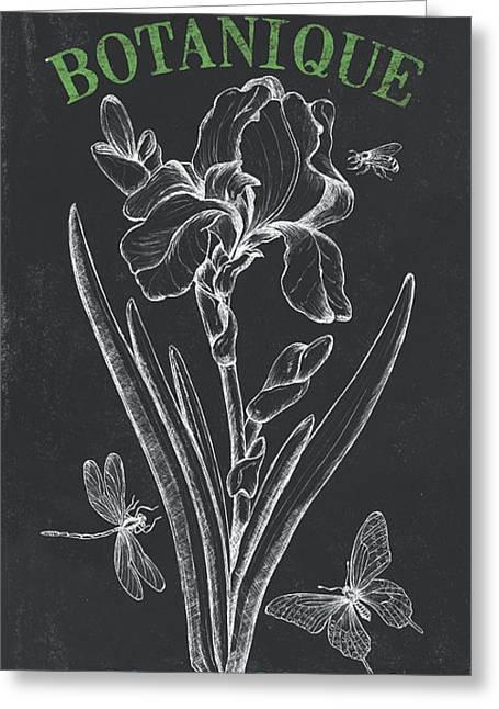 Botanique 1 Greeting Card by Debbie DeWitt